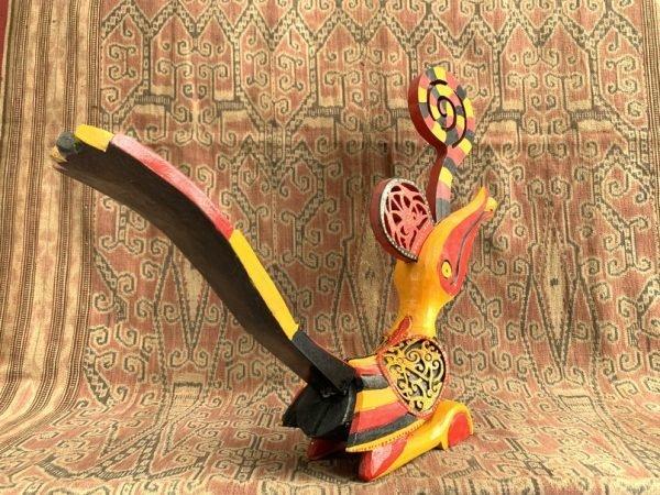 BIRD ART 500mm Yellow Hornbill Statue Figure Figurine Sculpture Majestic Animal Borneo