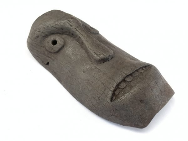OLD MASK 260 x 140mm Dancing Facial Masque Tribal Face Topeng Dayak Statue Sculpture Borneo