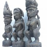 Small tribal sculptures