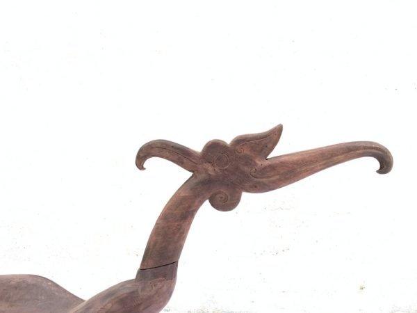 BABY BATHTUB 1670mm Child Carrier Aristocrat Dayak Heirloom Borneo Bird Statue Figure Figurine Bowl Basin