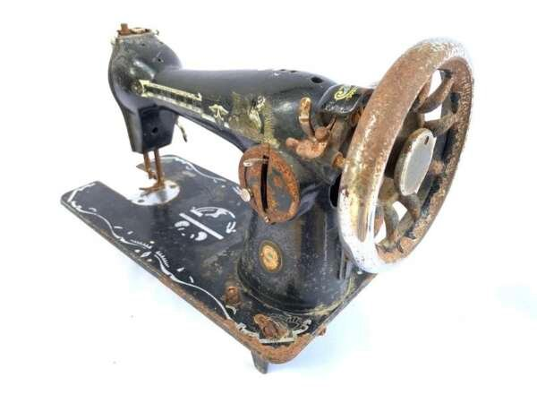 VINTAGE SEWING MACHINE Model 15NL Old Singer ISMACS (International Sewing Machine Collectors' Society) Textile Stitch