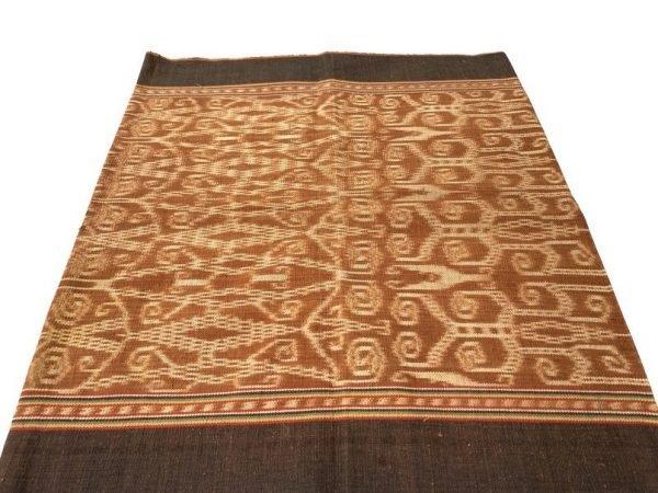 BORNEO TRIBAL SKIRT 530mm Ladies Ikat Bidang Traditional Dress Garment Pillow & Wall Art