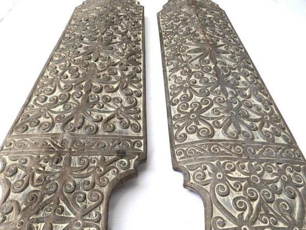 TRADITIONAL ARMOR (Supersize 1250mm Shield) War Armor Wood Craft Sculpture Borneo